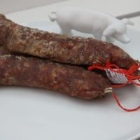 Franse droge worst - Gedroogde worst met eend en groene peper - Saucisson au Canard au poivre vert, 180g - Auvergne - 2931027