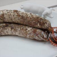 Franse droge worst - Gedroogde worst met everzwijn - Saucisson au sanglier, 180g - Auvergne - 2931022