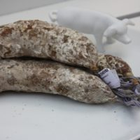 Franse droge worst - Gedroogde worst met geitenkaas - Saucisson au Fromage de chevre, 180g - Auvergne - 2931016