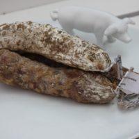 Franse droge worst - Gedroogde worst met knoflook - Saucisson à l'ail, 180g - Auvergne - 2931025