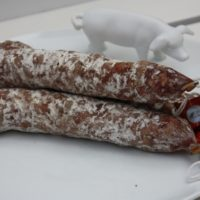 Franse droge worst - Gedroogde worst naturel - Saucisson naturel pur porc - Auvergne - 2931001