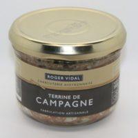 Franse pâté - Boerenland Terrine - Terrine de Campagne, 180g - Midi-Pyrénées - 3331006