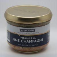 Terrine met Champagne - Terrine a la fine Champagne 180g - Midi Pyrenees - 3331009