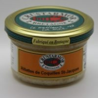 Vis - St. Jakobsschelpenrillettes (met crême fraîche) - Rillettes de coquilles St. Jacques 90g - Bretagne - 0231010