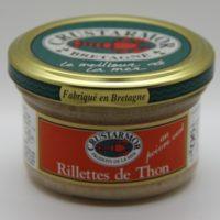 Vis - Tonijn rillettes met groene peper - Rillettes de thon au poivre vert 90g - Bretagne - 0231008