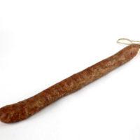 Chorizo long type Salamanca (droit) hâché gros - boyau type rosette