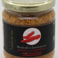 Franse Mosterd - Moutarde piment espelette - Groffe mosterd met piment - Pays de la Loire - 5431005