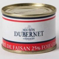 Franse pâté - fazant pâté met 25% foie gras - pâté de faisant 25% foie gras, 70g - Landes - 5931014