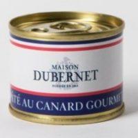 Franse pâté - fijnproevers eenden pâté - pâté au canard gourmet, 70g - Landes - 5931006