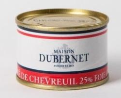 Franse pâté - herten pâté met 25% foie gras - pâté de chevreuil 25% foie gras - Landes - 5931013