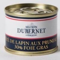 Franse pâté - konijnenpâté met pruimen en 30% foie gras - pâté de lapin aux pruneaux 30% foie gras - Landes - 5931010