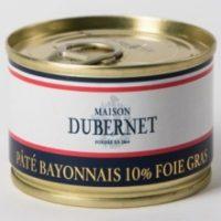 Franse pâté - pâté uit Bayonne met 10% foie gras - pâté bayonnais 10% foie gras, 70g - Landes - 5931008
