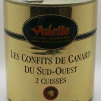 Gekonfijte eend - Confit de canard 2  cuisses 765g - Perigord - 3831033