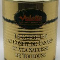 Witte bonen gerecht met confit de canard - Cassoulet confit de canard et a la saucisse de Toulouse 820g - Perigord - 3831018